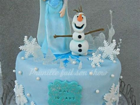 gateau la reine des neiges disney elsa et olaf en invitations ideas