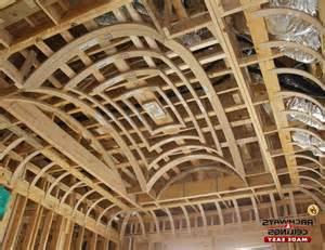 Groin Vault Ceiling Framing by Groin Ceilings Photos