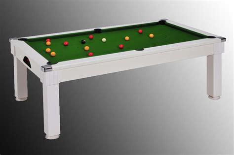 photo billard table billard table pas cher blanc tapis vert