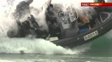 Tug Boat Accidents Youtube by Police Fail Boat Overturns During Sea Rescue In Australia