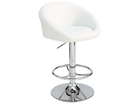 tabouret de bar beth coloris blanc tabouret de bar