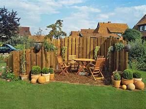 Kleiner Gartenzaun Holz : sichtschutz f r garten und balkon 8 ~ Whattoseeinmadrid.com Haus und Dekorationen