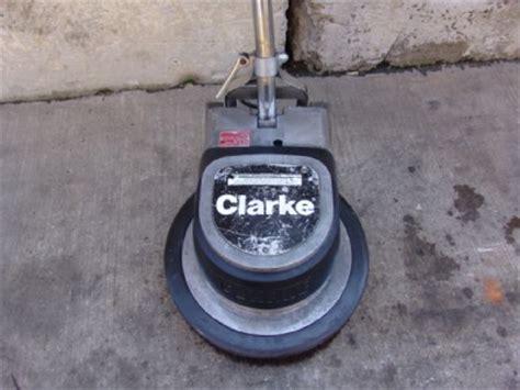 clarke fm 1700 floor buffer maintainer polisher ebay
