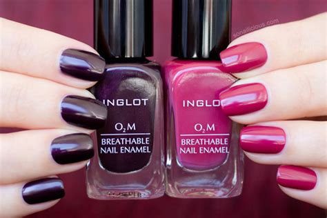 Marsala-perfect Inglot O2m Breathable Nail Polish