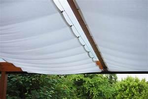 Seitenwände Für Terrassenüberdachung Stoff : sonnenschutz f r die terrassen berdachung ~ Markanthonyermac.com Haus und Dekorationen