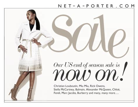 the net a porter sale is now live