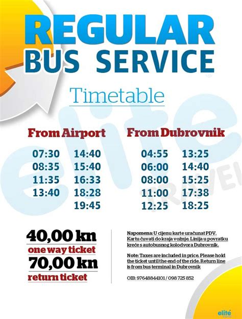 Bus From Dubrovnik To Hvar Town by Dubrovnik Airport Bus Shuttle Run By Elite Travel Agent