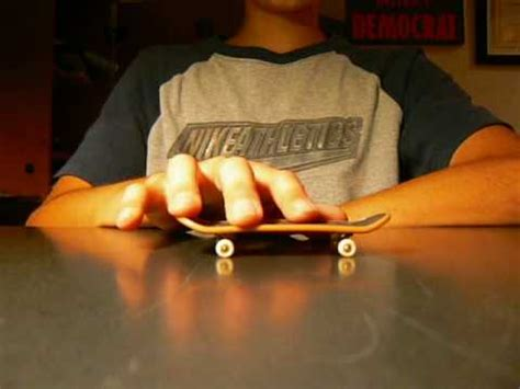 tech deck ollie tutorial for beginners