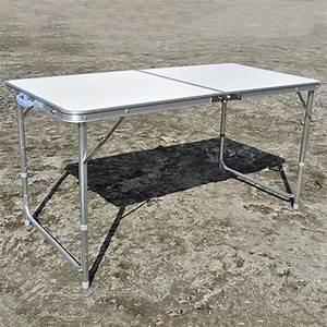 Gartentisch Klappbar Alu : campingtisch klappbar alu h heinstellbar gartentisch ~ Markanthonyermac.com Haus und Dekorationen