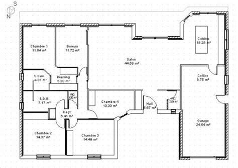 1000 ideas about plan maison plain pied on