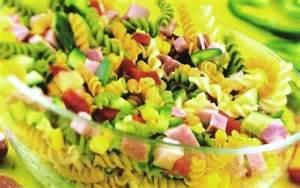 la recette d salade de p 226 tes multicolores