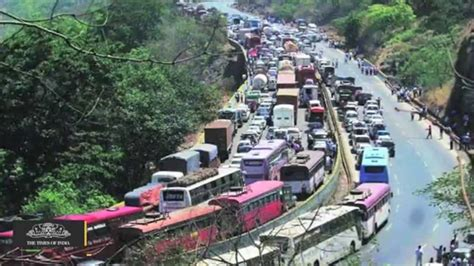 Major Traffic Jam On Mumbaipune Expressway Due To Pwd. Red Orange Banners. Campground Signs. Native Decals. Nightstalker Logo. Fish Logo. Oscar Grant Murals. Web Service Banners. Poster The Philippines Lettering