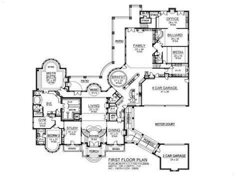 8 Room House Design : 7 Bedroom House Plans 8 Bedroom Ranch House Plans, 7