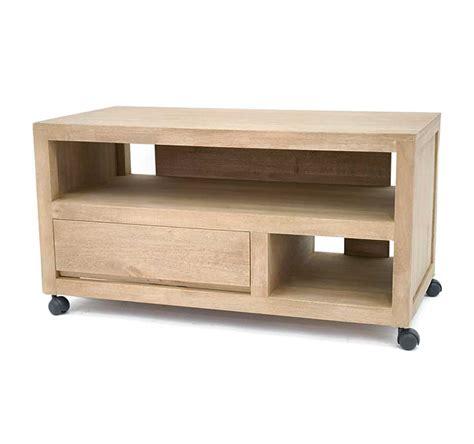 meuble tv vid 233 o sur roulettes calveth 5397