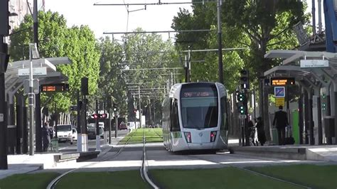 tramway t3b de porte de pantin