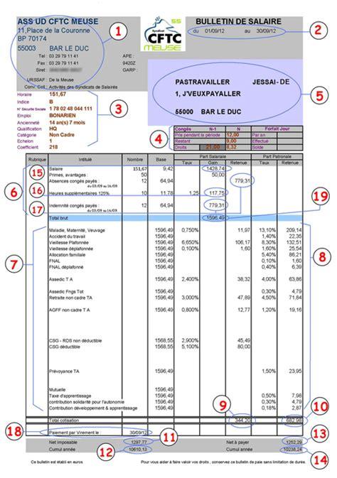 modele fiche de paie cadre xls document