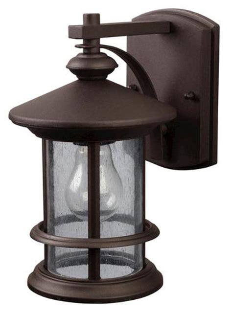 patriot lighting 174 treehouse 1 light 9 75 quot rubbed bronze outdoor downlight at menards 174
