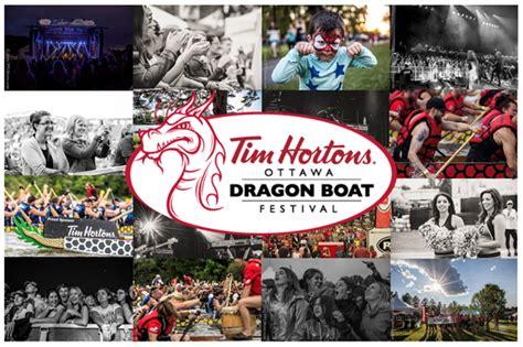 Ottawa Dragon Boat Festival Vendors by Ottawa Dragon Boat Festival Signs A New Three Year Title