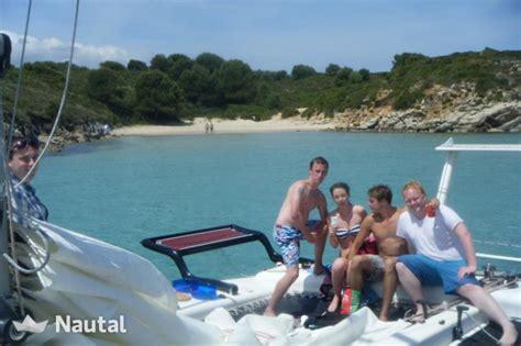 Catamaran Verhuur by Verhuur Catamaran Voor 12 Personen In Menorca Nautal