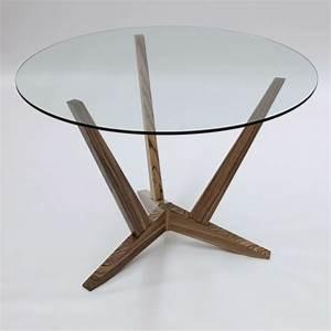 Runder Weißer Tisch : ultramoderne designs vom glasplatte tisch ~ Markanthonyermac.com Haus und Dekorationen