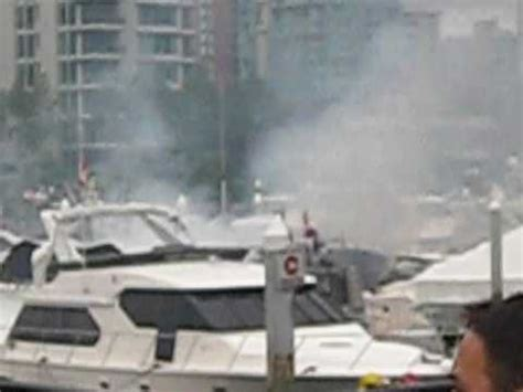 Vancouver Fire Boat 3 by Coal Harbour Marina Boat Fire Vancouver Bc 10 13 09