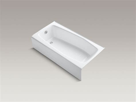 Kohler Villager Bathtub Drain by Standard Plumbing Supply Product Villager Ci Tub Lh Wh