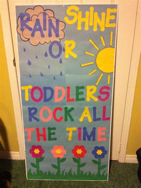 toddler classroom door decor kindergarten instead of toddlers teaching stuff