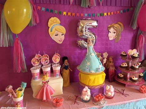 anniversaire princesse sweettable d 233 co et activit 233 s allo maman dodo