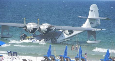 Flying Boat Movie by Wwii Pby Catalina Destroyed During Movie Filming