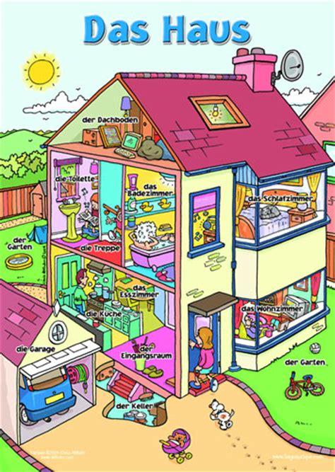Poster  Das Haus  Little Linguist