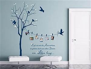 Wand Mit Fotos Dekorieren : originelle wandtattoos zur kreativen wandgestaltung ~ Markanthonyermac.com Haus und Dekorationen