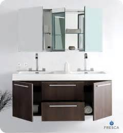 fresca opulento gray oak modern sink bathroom vanity w medicine cabinet direct to you