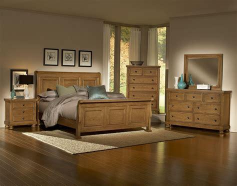 vaughan bassett reflections 550 oak bedroom