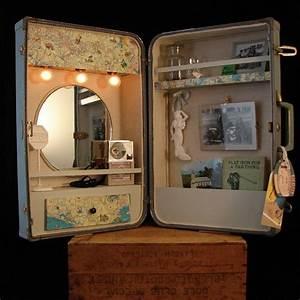 Spiegel Neu Gestalten : attraktive neugestaltung und deko ideen f r den alten koffer zu hause ~ Markanthonyermac.com Haus und Dekorationen
