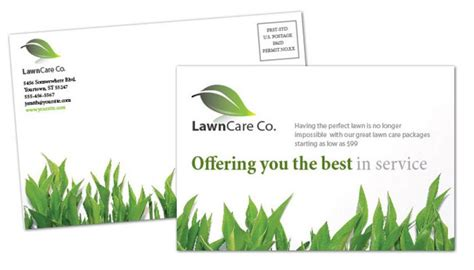 Lawn Care Business Cards. Business Card Template Lawn Care