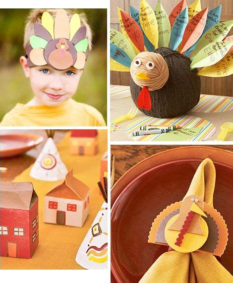 86 Best Fall Thanksgiving Crafts Images On Pinterest