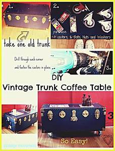 Vintage Movement: Easy Upcycled DIY Vintage Trunk / Chest ...