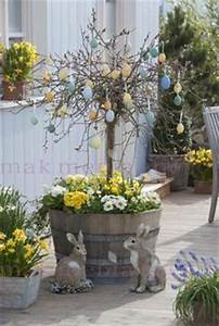 Deko Für Hauswand : mit primeln k bel bepflanzen gef duo mit birkenzweige knoten tischdeko pinterest ~ Markanthonyermac.com Haus und Dekorationen