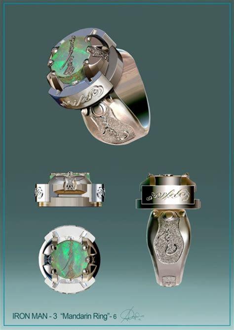 Iron Man 3 Designs For Mandarin's Rings & Pepper Potts. Monogram Wedding Rings. Accessory Engagement Rings. Off Center Engagement Rings. Belle Engagement Rings. Decoinspired Engagement Rings. Thumb Print Wedding Rings. Branded Rings. Water Neck Rings