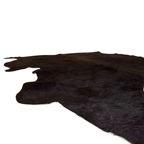 68% Off  Ikea Ikea Koldby Black Cowhide Rug Decor
