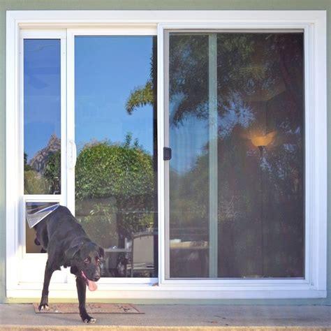 ideal fast fit patio panel pet door sliding glass door