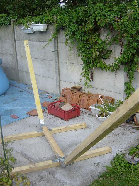 comment fabriquer support 224 hamac en bois la maison du sart