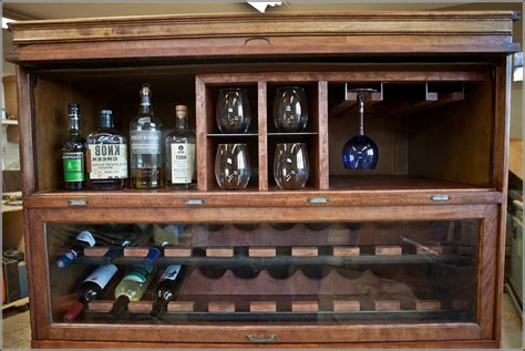 furniture appealing antique liquor cabinet with wooden