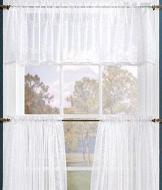 tier set lounge curtains white sheer curtains cafe curtains shabby chic monogram