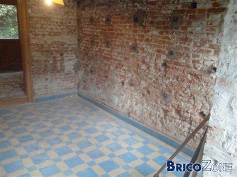 renover un mur int 233 rieur en brique abim 233