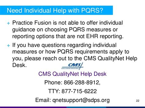 Medicare Qualitynet Help Desk by Cqm And Pqrs Reporting With Practice Fusion