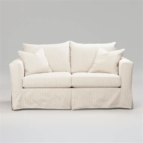 hton 74 quot sofa slipcover traditional sofas by