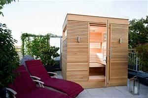 Sauna Im Garten : gruber sauna im freien ~ Markanthonyermac.com Haus und Dekorationen