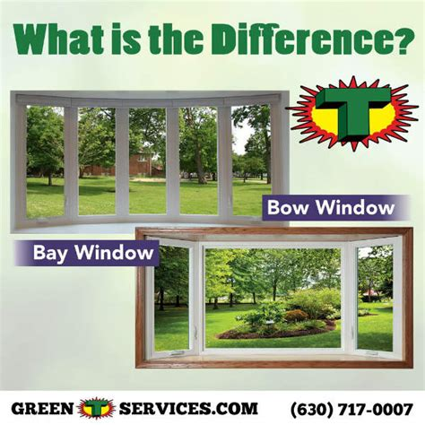 What Is The Difference Between A Bow And A Bay Window