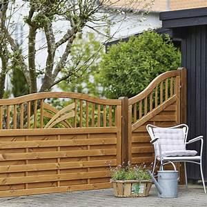 Sichtschutzzaun Bambus Holz : holz sichtschutz zaun ronda teak ~ Markanthonyermac.com Haus und Dekorationen